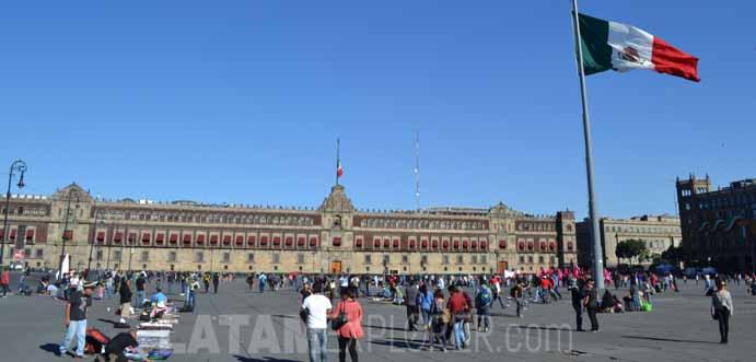 Zócalo - Palácio Nacional