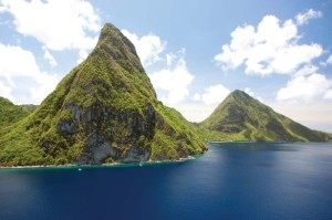 St Lucia - pitons1