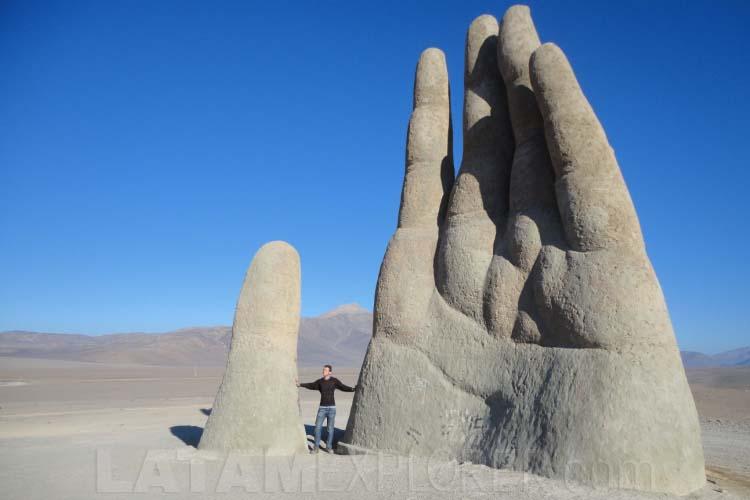 La Mano del Desierto - Región de Antofagasta, Chile