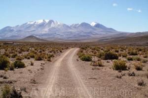 Carretera altiplánica - Isluga, Región de Tarapacá