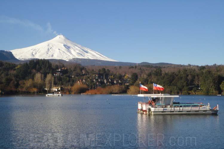 Lago y Volcán Villarica - Pucón, Chile