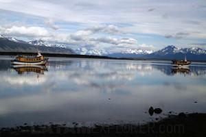 Canal Señoret - Puerto Natales, Chile