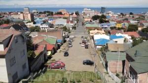 Punta Arenas vista desde el Cerro de la Cruz