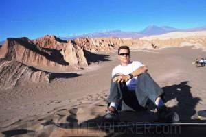 Sandboard, Valle de la Luna - San Pedro de Atacama, Chile
