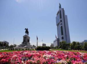 Plaza Itália - Santiago, Chile