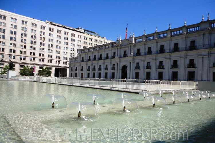 Palácio de la Moneda - Santiago, Chile