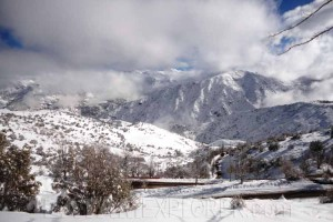 Camino a Farellones, Chile