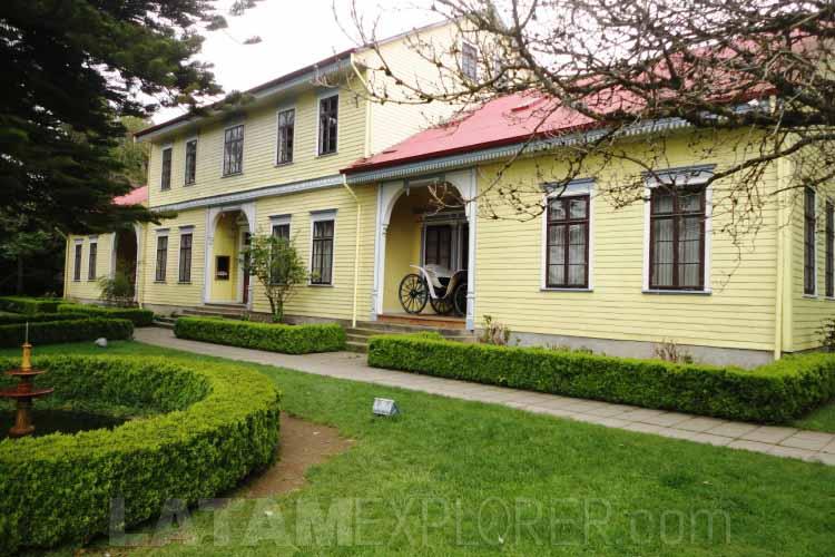 Museo Mauricio Van de Maelle - Valdívia, Chile