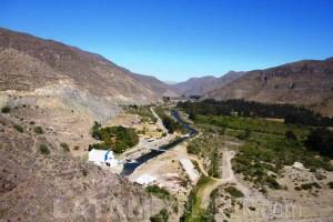 Vista desde el Embalse Puclaro - Valle del Elqui, Chile