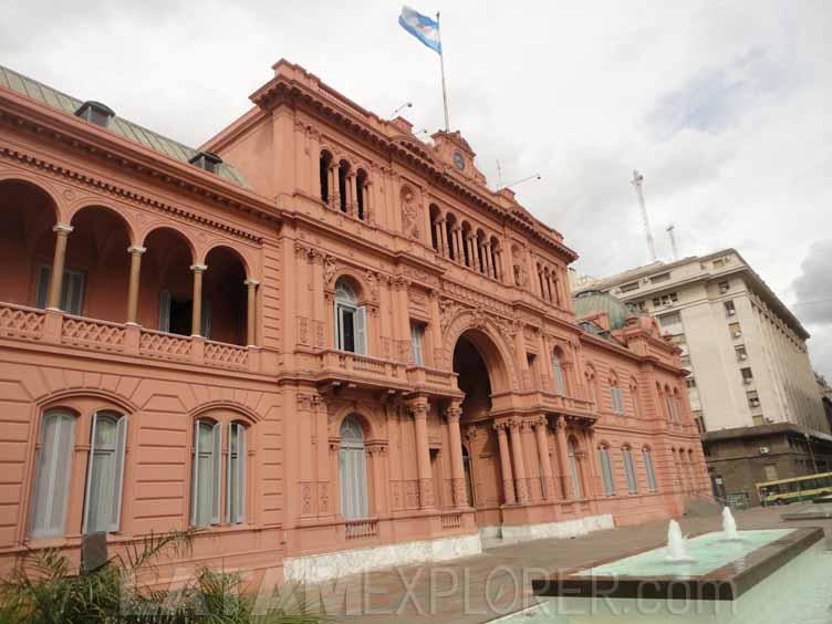 Casa Rosada (Sede de la Presidencia), Buenos Aires, Argentina