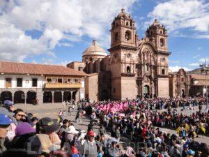 Iglesia de la Compañia de Jesús, Cusco, Peru