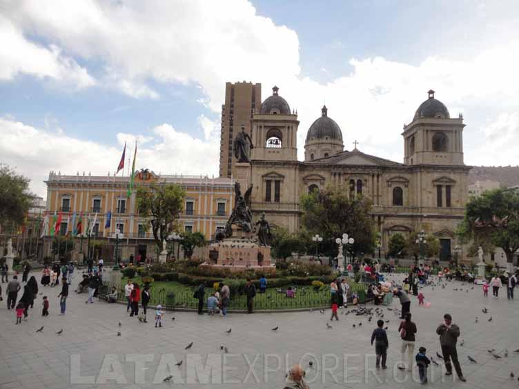Plaza Murillo, La Paz, Bolivia