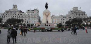 Plaza San Martin, Lima, Peru