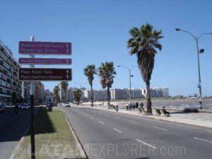 Ramblas, Montevideo, Uruguay