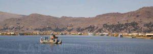 Islas de los Uros, Lago Titicaca, Puno, Peru