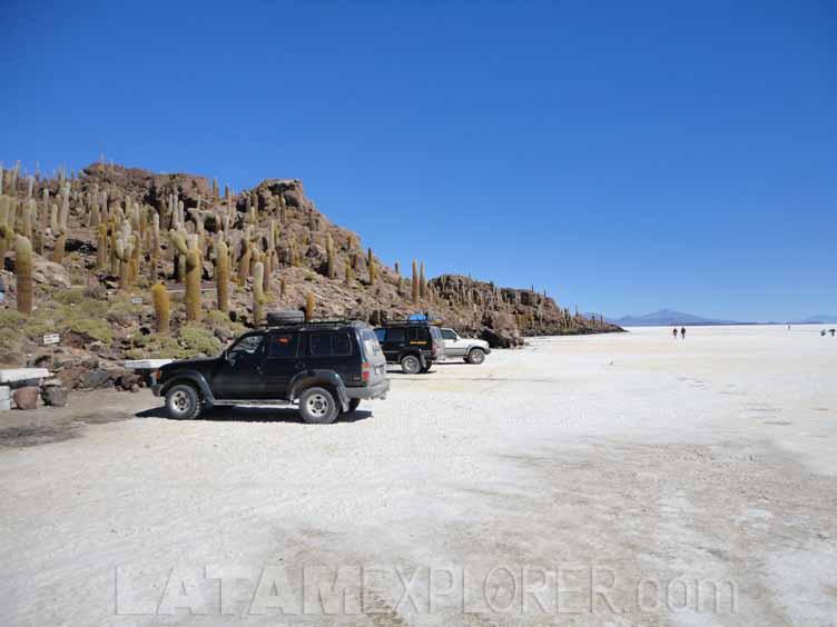 Isla Incahuasi, Salar de Uyuni, Bolivia