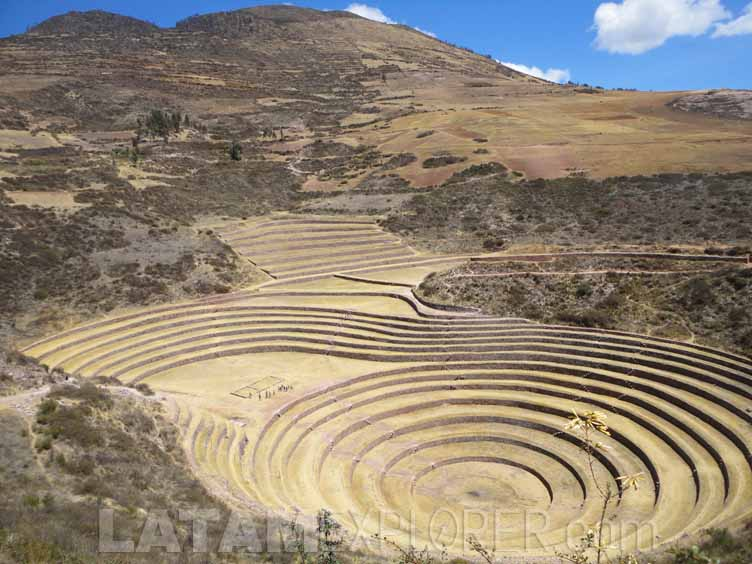 Moray, Valle Sagrado de los Incas, Peru
