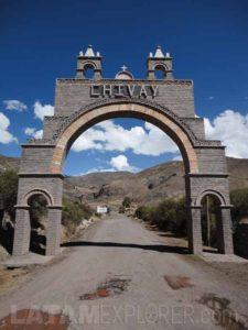 Chivay, Valle del Colca, Peru
