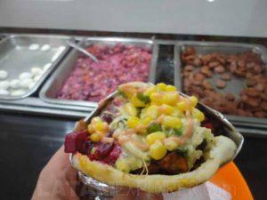 Arepa - Comida colombiana