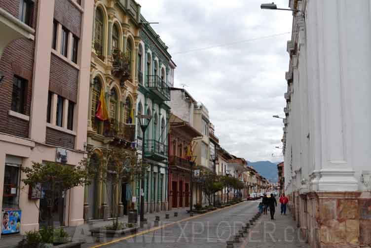 Centro histórico - Cuenca, Ecuador