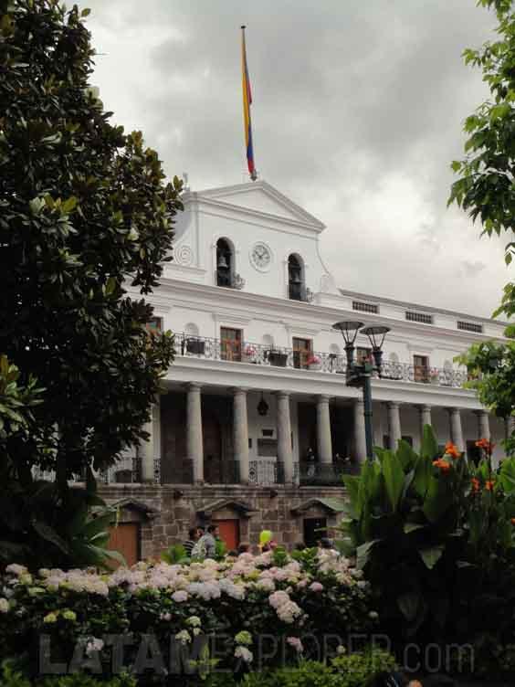 Palacio de Carondelet - Quito, Ecuador